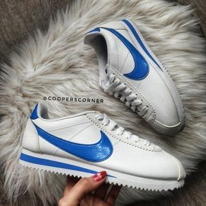 Nike Shoes - NEW Nike Classic Cortez Leather SE BlueJay (Rare) 7566923c0